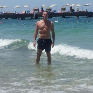 Me in water